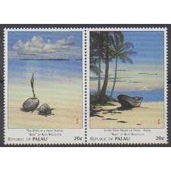 Palau - 1996 - Nb 1002/1003 - Paintings