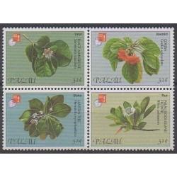 Palau - 1997 - Nb 1022/1025 - Flowers - Philately
