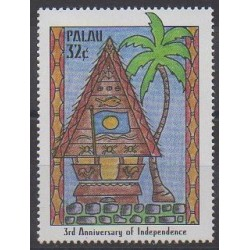 Palau - 1997 - Nb 1074 - Various Historics Themes