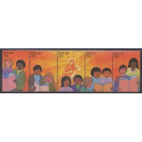 Palau - 1997 - Nb 1093/1097 - Music - Christmas