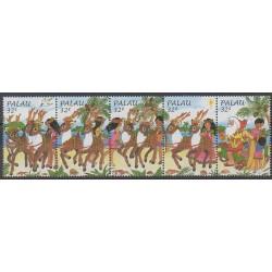 Palau - 1998 - Nb 1176/1180 - Christmas