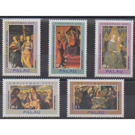 Palau - 2002 - Nb 1866/1870 - Paintings