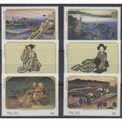 Palau - 1999 - Nb 1322/1327 - Paintings
