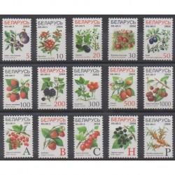 Biélorussie - 2004 - No 474/488 - Fruits ou légumes