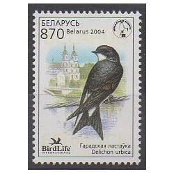 Biélorussie - 2003 - No 448 - Oiseaux