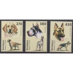 Belarus - 2003 - Nb 462/464 - Dogs