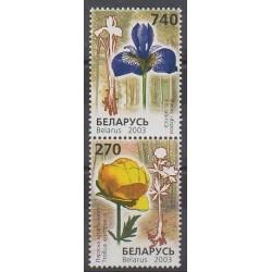 Belarus - 2003 - Nb 454/455 - Flowers