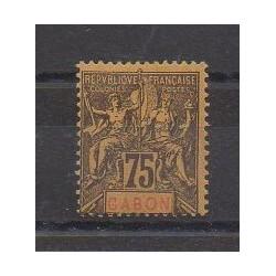 Gabon - 1904 - No 29 - Neuf avec charnière