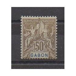 Gabon - 1904 - No 28 - Neuf avec charnière