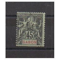 Gabon - 1904 - No 27 - Neuf avec charnière
