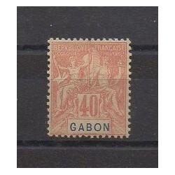 Gabon - 1904 - No 26 - Neuf avec charnière
