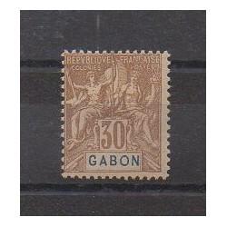 Gabon - 1904 - No 24 - Neuf avec charnière