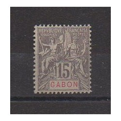 Gabon - 1904 - No 21 - Neuf avec charnière