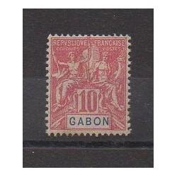 Gabon - 1904 - No 20 - Neuf avec charnière