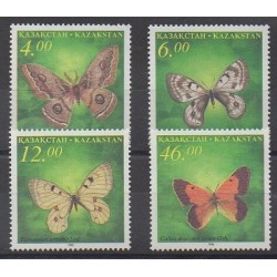 Kazakhstan - 1996 - Nb 114/117 - Insects