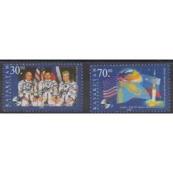 Kazakhstan - 2002 - Nb 311/312 - Space