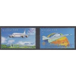 Kazakhstan - 2002 - Nb 337/338 - Planes