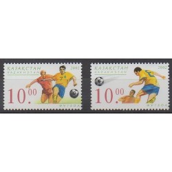 Kazakhstan - 2002 - Nb 320/321 - Soccer World Cup
