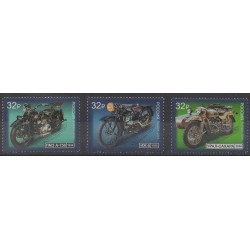 Russia - 2019 - Nb 8076/8078 - Motorcycles