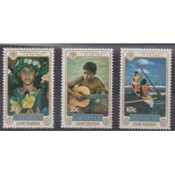 Aitutaki - 1979 - Nb 236/238 - Childhood