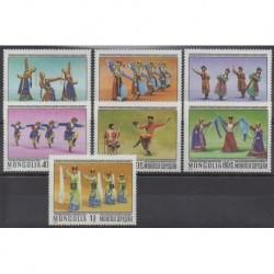 Mongolia - 1977 - Nb 894/904 - Music