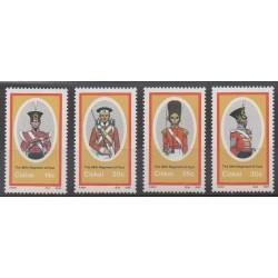 Afrique du Sud - Ciskey - 1986 - No 98/101 - Histoire militaire