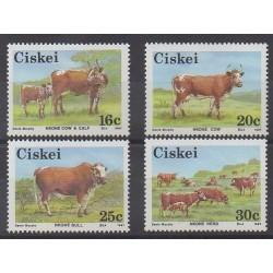 Afrique du Sud - Ciskey - 1987 - No 115/118 - Mammifères