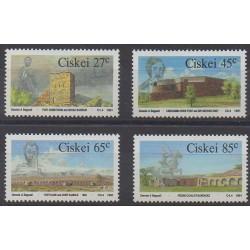 Afrique du Sud - Ciskey - 1991 - No 207/210 - Histoire militaire