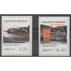 Greenland - 2012 - Nb 590/591 - Minerals - Gems