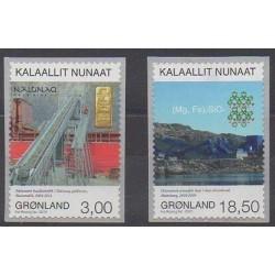 Greenland - 2015 - Nb 667/668 - Minerals - Gems