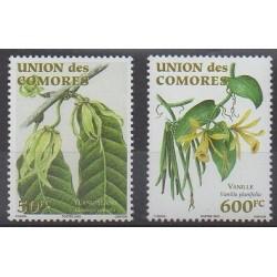 Comoros - 2003 - Nb 1177/1178 - Fruits or vegetables