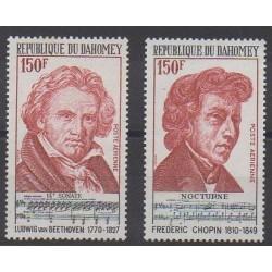 Dahomey - 1974 - No PA210/PA211 - Musique