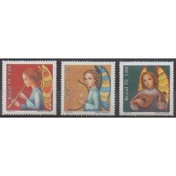 Brésil - 1978 - No 1346/1348 - Musique - Noël