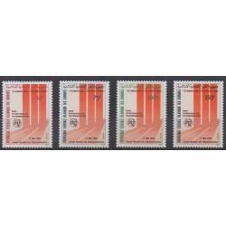 Comoros - 1993 - Nb 559/562 - Telecommunications