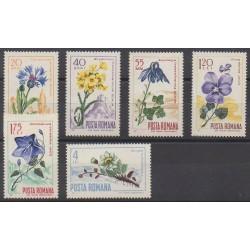 Roumanie - 1967 - No 2304/2309 - Fleurs