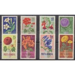 Roumanie - 1964 - No 1993/2000 - Fleurs