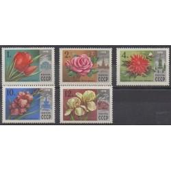 Russia - 1978 - Nb 4479/4483 - Flowers
