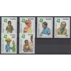 Zaïre - 1979 - No 951/956 - Enfance