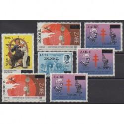 Zaïre - 1992 - No 1352/1358