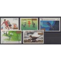 Zaïre - 1996 - No 1410/1414