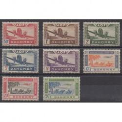 Dahomey - 1942 - Nb PA10/PA17