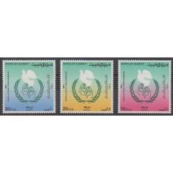 Kowaït - 1986 - No 1084/1086