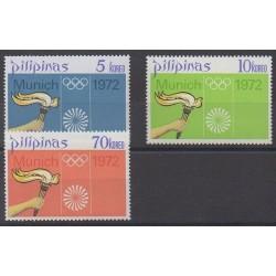 Philippines - 1972 - Nb 899/901 - Summer Olympics