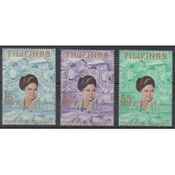 Philippines - 1973 - Nb 938/940 - Celebrities
