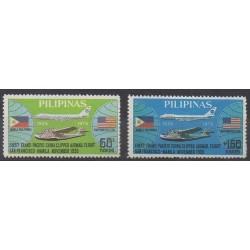 Philippines - 1975 - Nb 996/997 - Planes