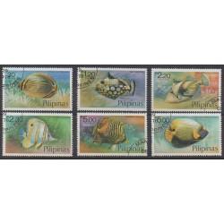 Philippines - 1978 - Nb 1076/1081 - Sea life - Used