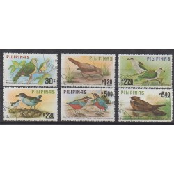 Philippines - 1979 - Nb 1110/1115 - Birds - Used