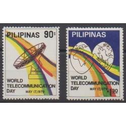 Philippines - 1979 - Nb 1127/1128 - Telecommunications