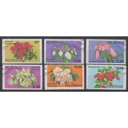 Philippines - 1979 - Nb 1129/1134 - Flowers - Used