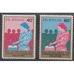 Philippines - 1983 - Nb 1339/1340 - Various Historics Themes